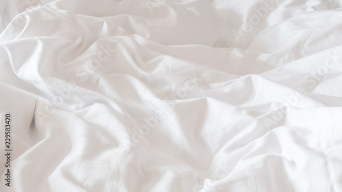 White bed sheets background Cozy White Bed Sheet Blanket Wrinkled Duvet Crumpled Comforter Cloth Used In Hotel Resort Adobe Stock White Bed Sheet Blanket Wrinkled Duvet Crumpled Comforter Cloth
