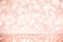 Rose Gold And Pink Glitter, De...