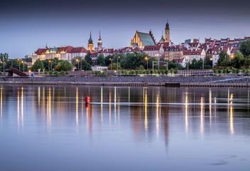 panorama Starego Miasta Warszawy