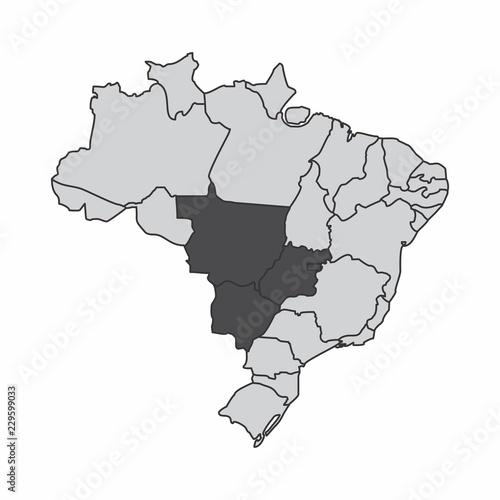 Fényképezés  Brazil center-west region