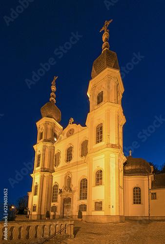 Fotografering Wallfahrtskirche Würzburg, Unterfranken, Bayern, Deutschland
