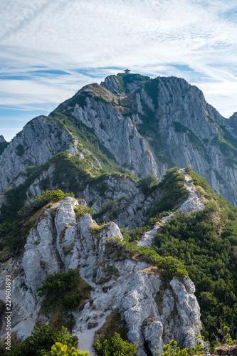Foto auf Gartenposter Gebirge Wanderung vom Heimgarten zum Herzogstand über den Grat - Kochelsee / Walchensee