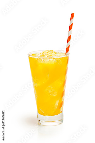 orange soda drink