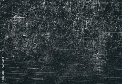 Foto Black scratches texture
