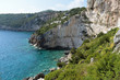 On the rocky shores - Zakynthos, in the Ionian Islands of Greece