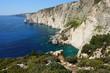 Zakynthos rocky coastline near Plakaki Cape