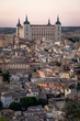 toledo, Spain cityscape with panoramic view of the toledo city