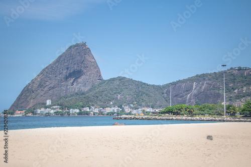 Aterro do Flamengo beach and Sugar Loaf Mountain - Rio de Janeiro, Brazil