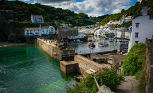 View Into Polperro Harbour, Co...