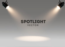 Spotlights With Bright White L...