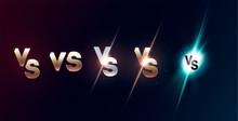 Set Of Versus Logo Vs Letters ...