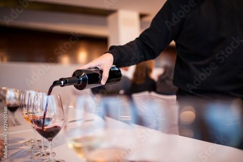 Fotografía  wine tasting
