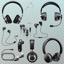 Headphones Vector Headset And ...