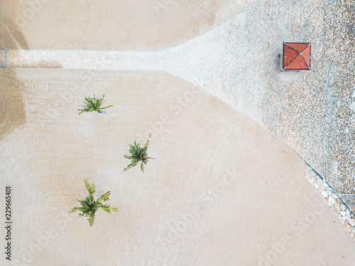 Foto op Aluminium Kust Indonesia, Bali, Aerial view of Nusa Dua beach, from above