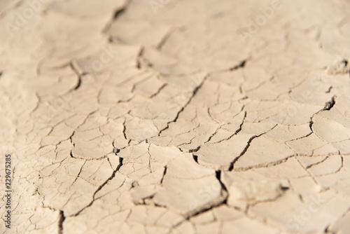 Fotografie, Obraz  Cracked desert floor