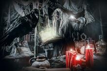 Den Of Frightening Wizard