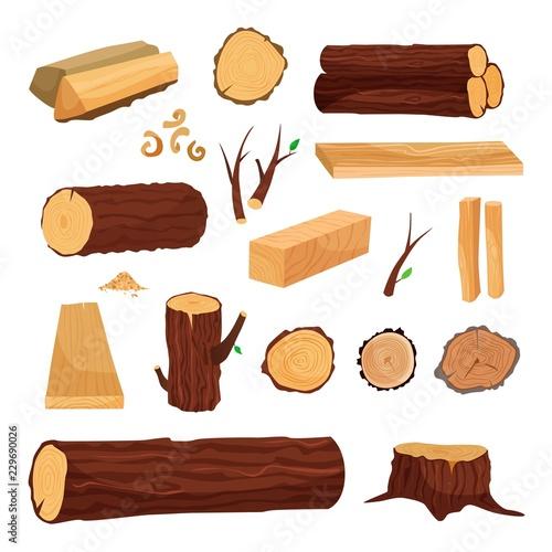 Fototapeta Materials for wood industry