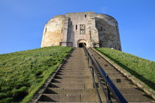 The Clifford's Tower In York, ...