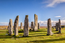 Autumn Evening At The Stone Circle At Callanish, Isle Of Lewis