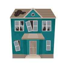 Big House With Broken Windows ...