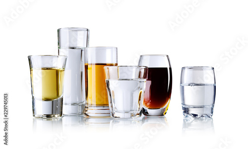 various spirits, isolated