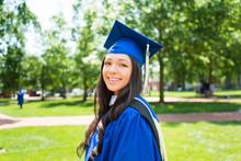 Beautiful Feamle College Gradu...