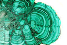 Malachite Mineral Background