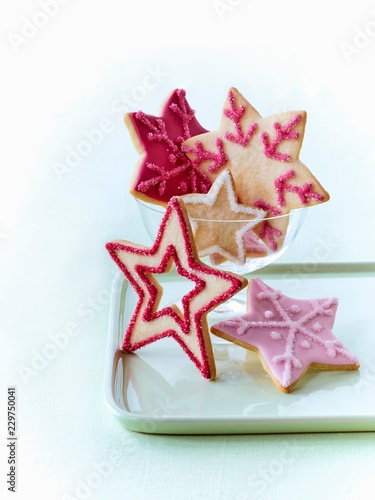 Christmas Star Biscuits Buy This Stock Photo And Explore Similar