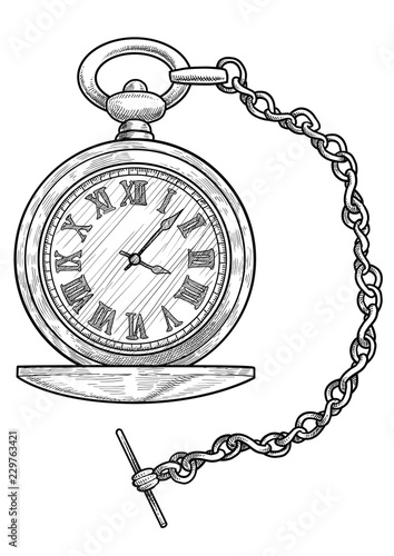 Pocket Watch Illustration Drawing Engraving Ink Line Art Vector Buy This Stock Vector And Explore Similar Vectors At Adobe Stock Adobe Stock Avoid buying used pocket watches over the internet. art vector buy this stock vector
