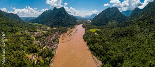Cuadros en Lienzo muang ngoi northern of laos