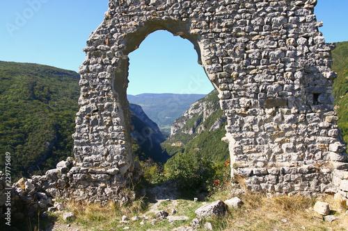 Poster Ruine les vestiges de l'église Saint-André