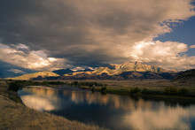 USA, Wyoming, Yellowstone National Park,landscape  In The North Of The Park UNESCO World Heritage List