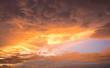 Twilight sunset sunrise vanilla sky. The time between dawn and dusk.