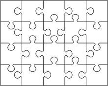 Vector Illustration Of White P...