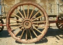 Western Wagon Wheel Used On 20...