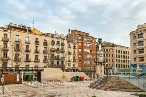 Sant Joan square, Lleida, Spain