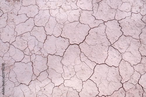 Cracks,Dehydrated soil
