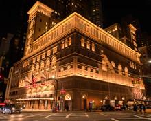 Carnegie Hall At Night