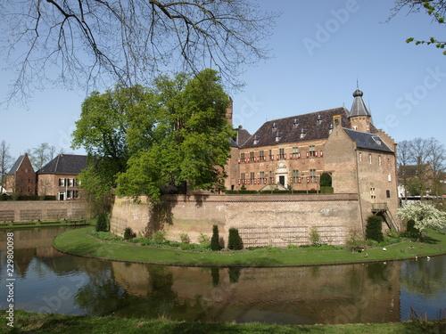 Fotografie, Obraz  Schloß Huis-Bergh in Holland