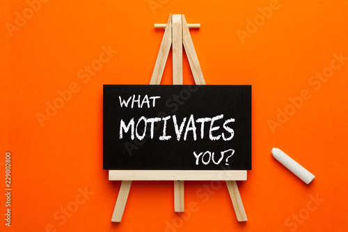 Fotografía  What Motivates You