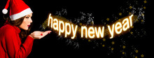 Happy New Year 2019 Horizontal...