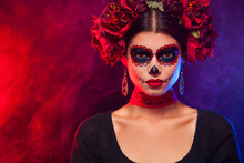 Creative Image Of Sugar Skull....