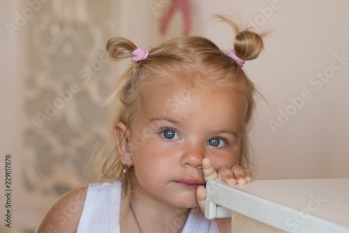 My Beauty And Hair Secrets Adorable Child With Blond Hair Small