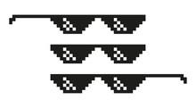 Vector Pixel Glasses