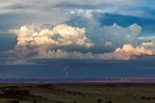 Thunderstorm With Dramatic Cum...
