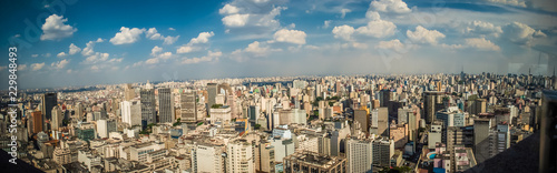 Fotografie, Obraz  São Paulo skyline 1