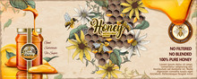 Wild Flower Honey Ads