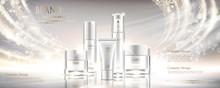 Shiny Pearl White Cosmetic Set
