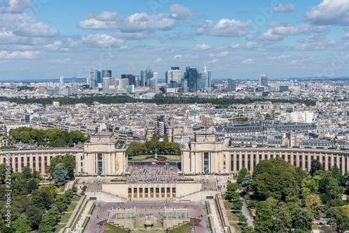 Valokuva  Aussicht vom Eiffelturm in Paris