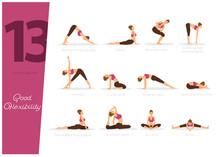 13 Yoga Poses For Good Flexibi...